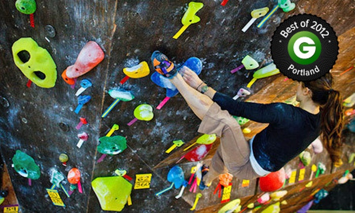 The Circuit Bouldering Gym - Multiple Locations: Bouldering Day Pass or Introduction to Bouldering Class for Two at The Circuit Bouldering Gym (Up to 64% Off)