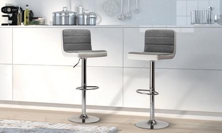 tabourets de bar como bicolore groupon. Black Bedroom Furniture Sets. Home Design Ideas