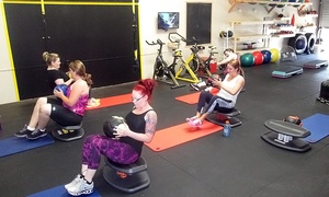 IFS Studio: One Month Unlimited Small Group Fitness Classes for One or Two People at IFS Studio (Up to 75% Off)