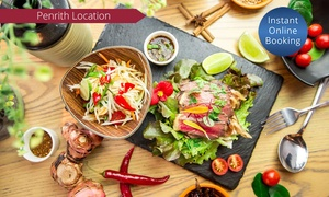 Chilli Jam: $29 for $50 to Spend on Food and Drinks for Minimum Two People at Chilli Jam - Penrith