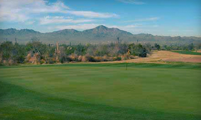 Crooked Tree Golf Course - Tucson: 30- or 60-Minute Private Golf Lesson and Large Bucket of Range Balls at Crooked Tree Golf Course (Up to 54% Off)