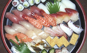 Sushi House: Sushi Meal with Starters, Rolls, and Drinks for Two or Four at Sushi House (Up to 55% Off)