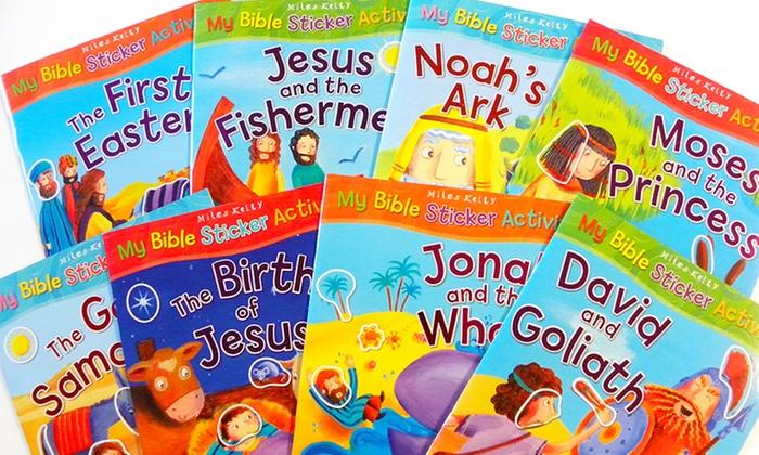 My First Bible Sticker Activity Book Bundle: My First Bible Sticker Activity Book Bundle