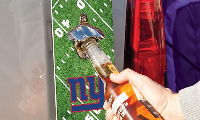NFL Clink 'n' Drink Magnetic Bottle Opener