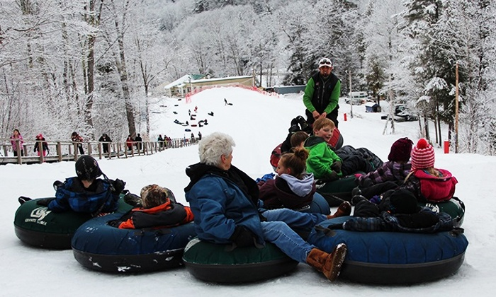 Granite Gorge - Keene/Roxbury: Snow Tubing for Two or Season Pass for One at Granite Gorge (Up to 33% Off)