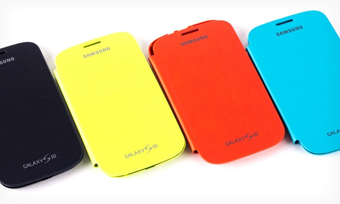 Samsung Smartphone Flip Cover Bundles: Samsung Galaxy 3 and Galaxy Note 2 Flip Covers (84% Off). Multiple Compatibilities and Colors Available. Free Returns.