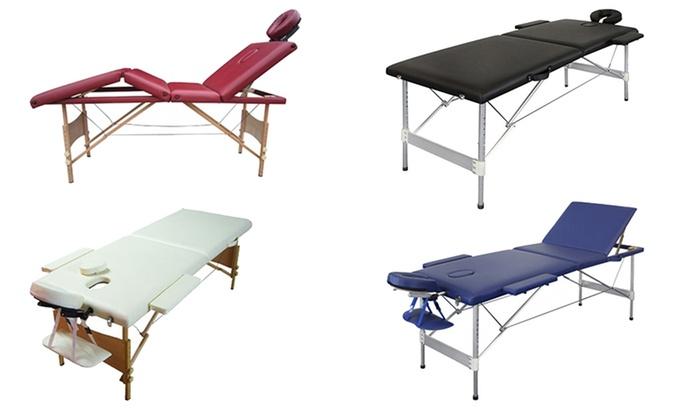 Table de massage pro groupon shopping - Table de massage pliante alu ...
