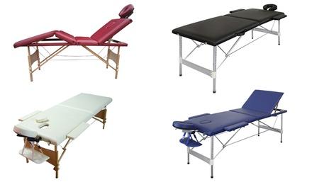 Table de massage pliante professionnelle en bois ou en alu d s 99 90 montp - Ou acheter table de massage ...