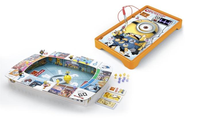 Hasbro Despicable Me Minions Monopoly or Operation Board Games: Hasbro Despicable Me Minions Monopoly or Operation Board Games. Free Returns.