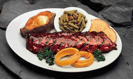$12 for $20 Worth of Dinner for Two at Woody's Bar-B-Q