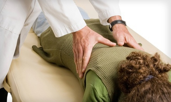Baker Family Chiropractic Center - Modesto: $47 for a Chiropractic Exam, X-rays, and Four Adjustments at Baker Family Chiropractic Centers (Up to $614 Value)
