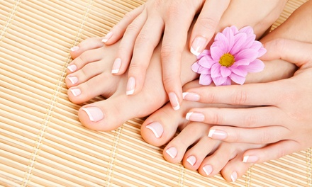 One or Two Mani-Pedis at Francine's Beauty Bar (Up to 51% Off)