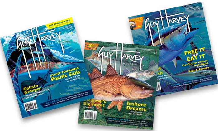 "Guy Harvey Magazine: $10 for One-Year Subscription to ""Guy Harvey Magazine"" ($24.95 Value)"