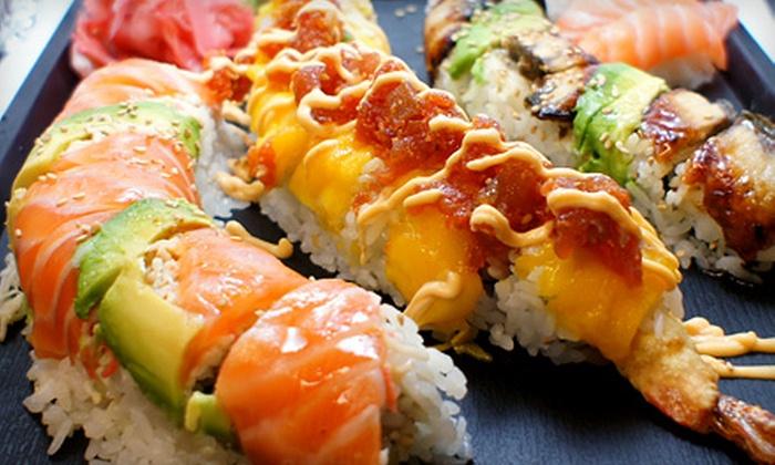 Mt. Fuji Sushi Bar and Japanese Cuisine - Sandy: $10 for $20 Worth of Japanese Cuisine at Mt. Fuji Sushi Bar and Japanese Cuisine