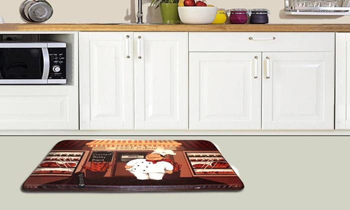 Anti-Fatigue Kitchen Floor Mats | Groupon Goods