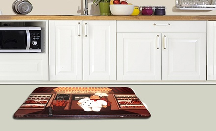 Anti-Fatigue Printed Kitchen Floor Mats. Multiple Prints Available. Free Returns.