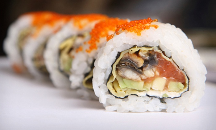 Baba Sushi, Teriyaki, Seafood Restaurant - Lexington-Fayette: $15 for $30 Worth of Sushi and Asian Fare at Baba Sushi, Teriyaki, Seafood Restaurant