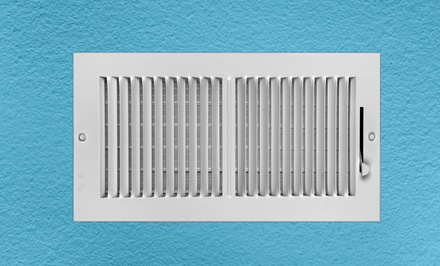 Air-Duct Cleaning for Up to Seven Vents with Complete Furnace Cleaning or Dryer Vent Cleaning (Up to 86% Off)