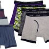 Fruit of the Loom Assorted Colors Men's Boxer Briefs (4-Pack)
