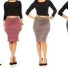 Women's Space Dye Pencil Skirts (4-Pack)