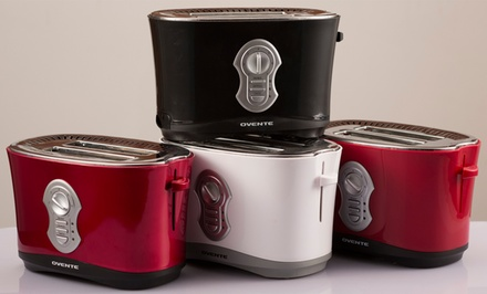 Ovente Two-Slice Toaster. Multiple Colors Available. Free Returns.