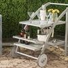 Safavieh Gray Lodi Tea Cart