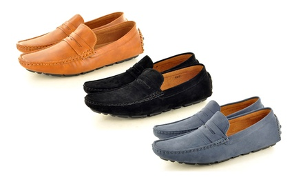 Men's SlipOn Loafers in Choice of Colours for £18.98