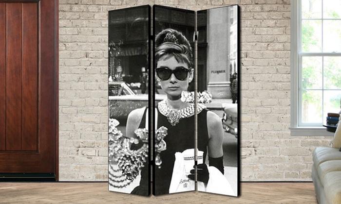 Audrey Hepburn Room Dividers Groupon Goods