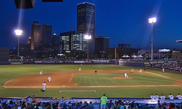 Tulsa Drillers - ONEOK Field: Two Tulsa Drillers Baseball Games for Two or Four at ONEOK Field on July 31 and August 12 (Half Off)