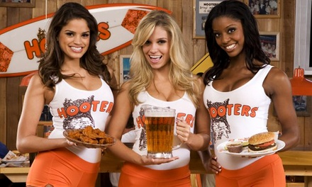 American Food for Two or Four at Hooters (50% Off)