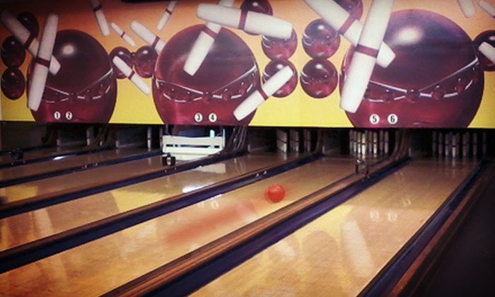 Mohegan Bowl - Mohegan Bowl-A-Drome: $20 for Two Hours of Candlepin Bowling for Up to Six with Shoe Rentals and Soda at Mohegan Bowl ($43.90 Value)