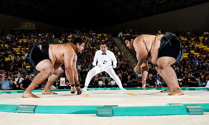 US Sumo Open 2016 - Walter Pyramid: 2016 US Sumo Open Main Event on Saturday, May 21, at 1 p.m.