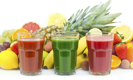$11 for Two Groupons, Each Good for $10 Worth of Juices and Smoothies at DJuice Cafe ($20 Total Value)