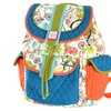 Inky and Bozko Quilted Cotton Backpack