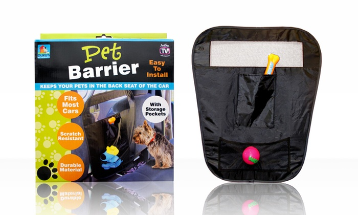 Backseat Car Pet Barrier. Free Returns Deals for only $12 instead of $22