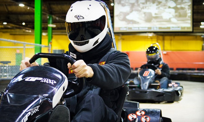 Lehigh Valley Grand Prix - Allentown: One or Two Go-Kart Races at Lehigh Valley Grand Prix (Up to 58% Off)
