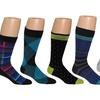 C. Manzini Men's Patterned Socks (12-Pair Pack)