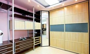 Indeco: Wykonanie szafy lub garderoby z drzwiami przesuwnymi w Indeco® Wybrzeże – 99,90 zł za groupon zniżkowy wart 900 zł