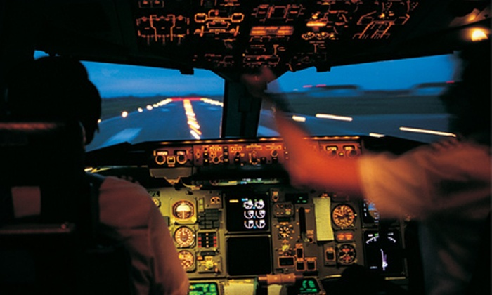 Above All Aviation - Santa Barabara Municipal Airport: $69 for a Flight-Simulator Package at Above All Aviation ($140.95 Value)