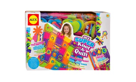 Alex Toys My Super KnotAQuilt for £22.99 With Free Delivery