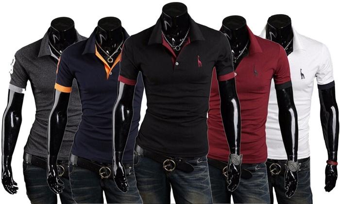 Groupon Goods Global GmbH: 2 polo a maniche corte uomo disponibili in vari colori