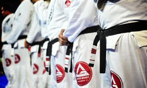 Gracie Barra: 10 or 20 Martial-Arts Fitness Classes at Gracie Barra (Up to 90% Off)