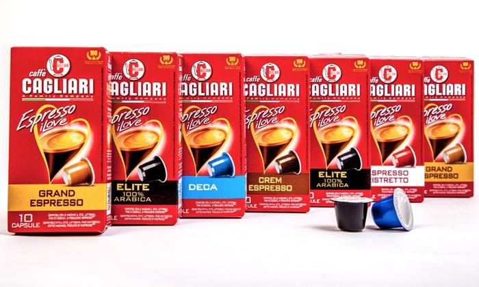 Caffè Cagliari Coffee Capsules   Groupon Goods