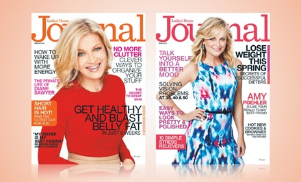 groupon daily deal - 2-Year, 20-Issue Subscription to Ladies' Home Journal