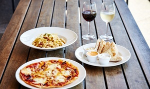 Harbour Town Hotel: $39 for a Bistro Lunch or Dinner with Wine for Two People at Harbour Town Hotel, Docklands (Up to $72 Value)