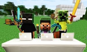 Tech Rocks!: $42 for $100 Groupon Towards a Minecraft Birthday Party — Tech Rocks