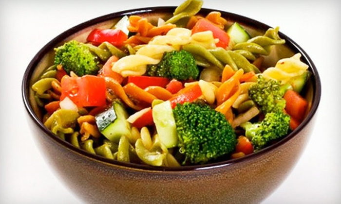Gobble Green: Prepared and Delivered Vegan and Gluten-Free Vegan Meals from Gobble Green (Up to 54% Off). Two Options Available.