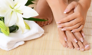Beauty and The City: 3 o 5 manicure e pedicure con smalto semipermanente (sconto fino a 90%)