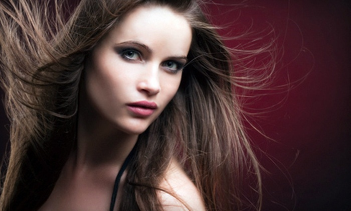 Angie and Co - Hermitage: Salon Package at Angie and Co in Old Hickory (Up to 75% Off). Three Options Available.