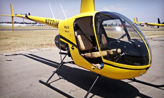 Flying High LLC - Mesa: Introductory Helicopter- or Airplane-Flight Lessons from Flying High LLC (Up to 62% Off)